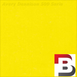 Snijfolie Plotterfolie Avery Dennison 527 Butter Yellow