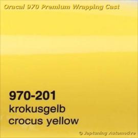 Wrap Folie Oracal Premium 970-201 - Krokus Geel