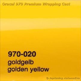 Wrap Folie Oracal Premium 970-020 - Goud Geel