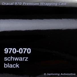Wrap Folie Oracal Premium 970-070 - Zwart