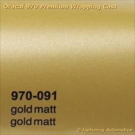Wrap Folie Oracal Premium 970-091 - Mat Goud