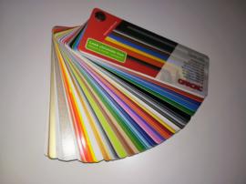 Kleurenwaaier Oracal 8300 8300, 451, 631, 7510 FL, 6510, 8810, 8710, 8510 serie