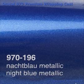 Wrap Folie Oracal Premium 970-196 - Nacht Blauw Metallic