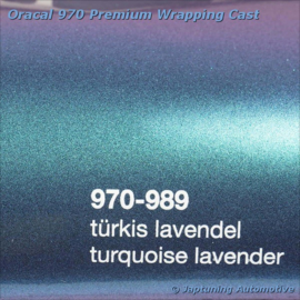 Wrap Folie Oracal Premium 970RA-989 Turquoise Lavender