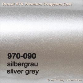Wrap Folie Oracal Premium 970-090 - Zilver Grijs