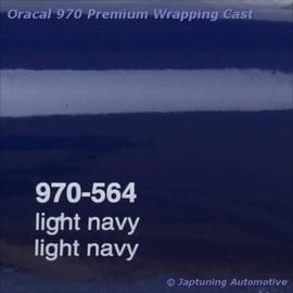 Wrap Folie Oracal Premium 970-564 - Licht Marine Blauw