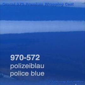 Wrap Folie Oracal Premium 970-572 - Politie Blauw