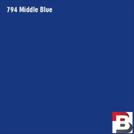 Snijfolie Plotterfolie Avery Dennison PF 794 Middle Blue