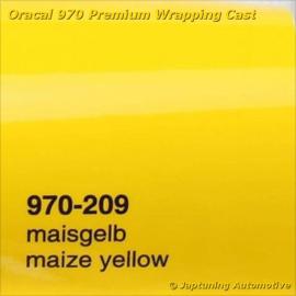Wrap Folie Oracal Premium 970-209 - Mais Geel