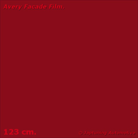 Avery Facade Film Wine Red Lustre Matt - RAL 3005