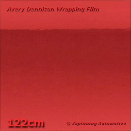 Avery Supreme Wrapping Film Chrome Red