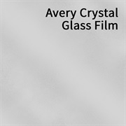Avery Crystal Glass Film