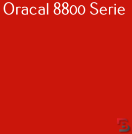 Oracal 8800 Translucent Premium Cast Film 8800-330 Fox Red