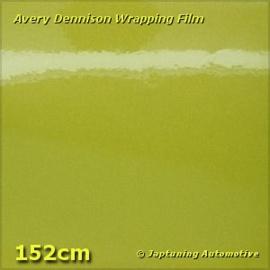 Avery Supreme Wrapping Film Gloss Metallic Acid Green