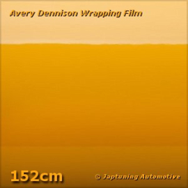 Avery Supreme Wrapping Film Gloss Dark Yellow