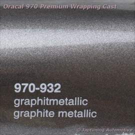 Wrap Folie Oracal Premium 970RA-932 Graphite Metallic