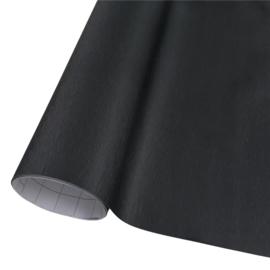 Wrap folie Brushed Aluminium Zwart
