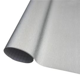 Wrap folie Brushed Aluminium Zilver