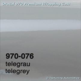 Wrap Folie Oracal Premium 970-076 - Telegrey
