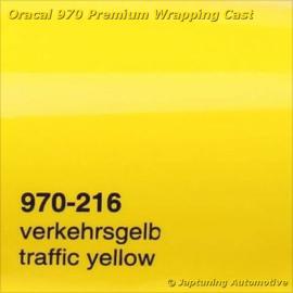 Wrap Folie Oracal Premium 970-216 - Verkeers Geel