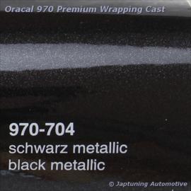 Wrap Folie Oracal Premium 970-704 - Zwart Metallic