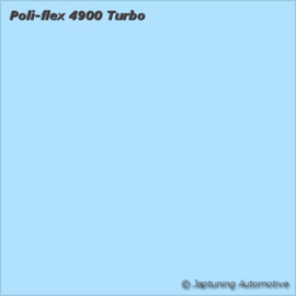 Poli-Flex Turbo Kleding folie -  Sky Blue 4965