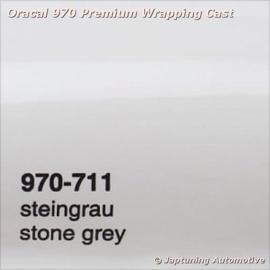 Wrap Folie Oracal Premium 970-711 - Steen Grijs