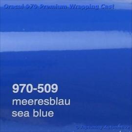 Wrap Folie Oracal Premium 970-509 - Zee Blauw