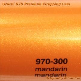Wrap Folie Oracal Premium 970-300 - Mandarijn