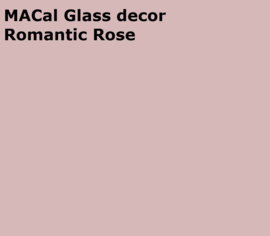 MACal GlassDecor Romantic Rose