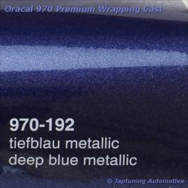 Wrap Folie Oracal Premium 970-192 - Diep Blauw Metallic