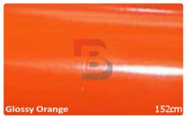 Wrapfolie Glans Oranje