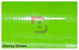 Wrapfolie Glans Groen