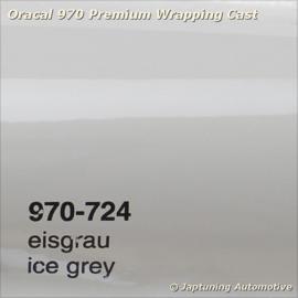 Wrap Folie Oracal Premium 970-724 - Ijs Grijs