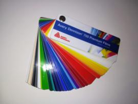 Kleurenwaaier Avery Dennison 700 Serie