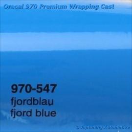 Wrap Folie Oracal Premium 970-547 - Fjord Blauw