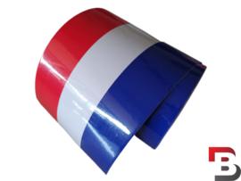 Nederlandse vlag striping op rol (15cm breed)