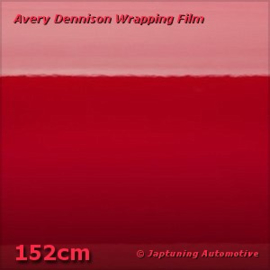 Avery Supreme Wrapping Film Gloss Carmine Red