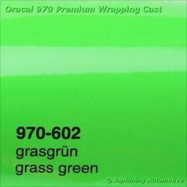 Wrap Folie Oracal Premium 970-602 - Gras Groen