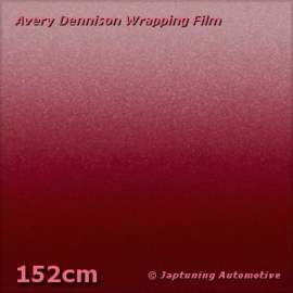 Avery Supreme Wrapping Film Mat Metallic Cherry