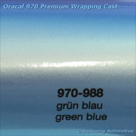Wrap Folie Oracal Premium 970RA-988 Green Blue