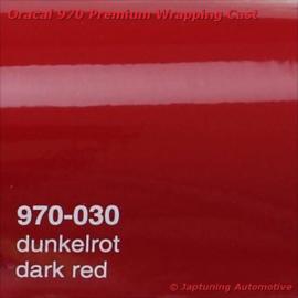 Wrap Folie Oracal Premium 970RA-030 Dark Red
