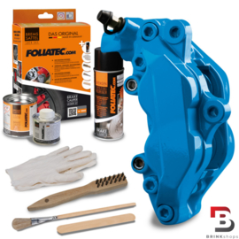 Foliatec Remklauwlakset GT Blauw - 3 Componenten