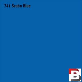 Snijfolie Plotterfolie Avery Dennison PF 741 Scuba Blue