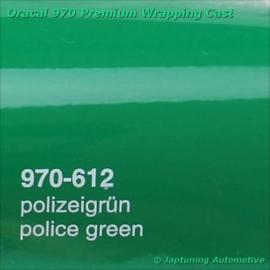 Wrap Folie Oracal Premium 970-612 - Duitse Politie Groen