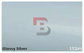 Wrapfolie Glans Zilver