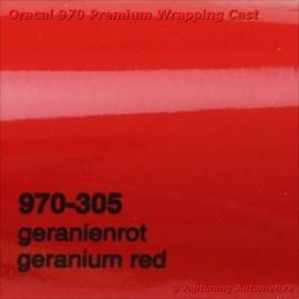 Wrap Folie Oracal Premium 970-305 - Geranium Rood