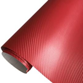 Wrapfolie 3d Carbon Rood