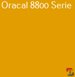Oracal 8800 Translucent Premium Cast Film 8800-019 Signal Yellow