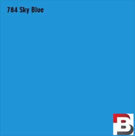 Snijfolie Plotterfolie Avery Dennison PF 784 Sky Blue